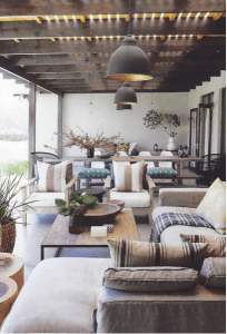 Summer - Outdoor - trends - 2018 - furniture - living room - neutral
