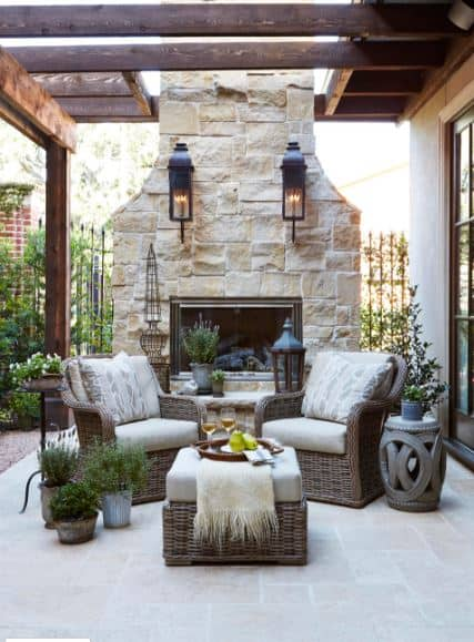 summer-outdoor-trends-2018-fireplace