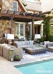 Summer- outdoor-trends-2018-limestone - pavers - patio-furniture
