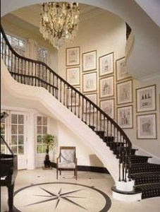 7 Ideas to Decorate Your Curved Stairs 10