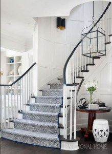 7 Ideas to Decorate Your Curved Stairs 8