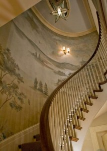 7 Ideas to Decorate Your Curved Stairs 6