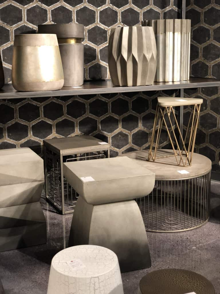 las vegas, trends, table, side table, concrete