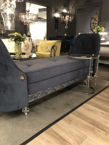 las vegas, gray, chaise, furniture