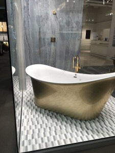 bathroom-blue-marble-shower-gold-freestanding tub-white-trends-las vegas