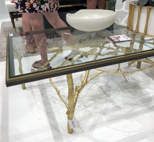 las vegas, handley drive, coffee table, black, gold, asian, trends, glass, large, traditional, branches
