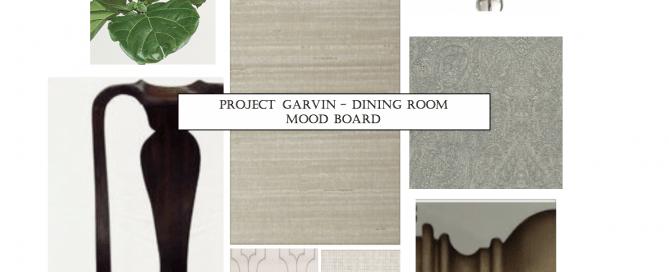 interior design, dining room, grass cloth, wallpaper, gray, traditional, transitional