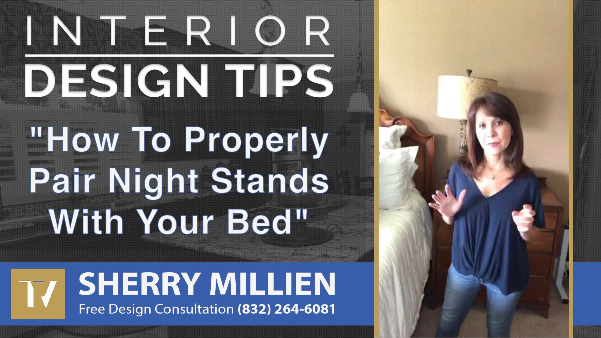 How To Properly Pair Nightstands With Your Bed