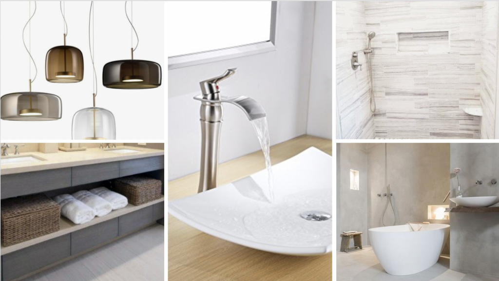 A Suburban Master Bathroom Goes From Bland to Bam! 6